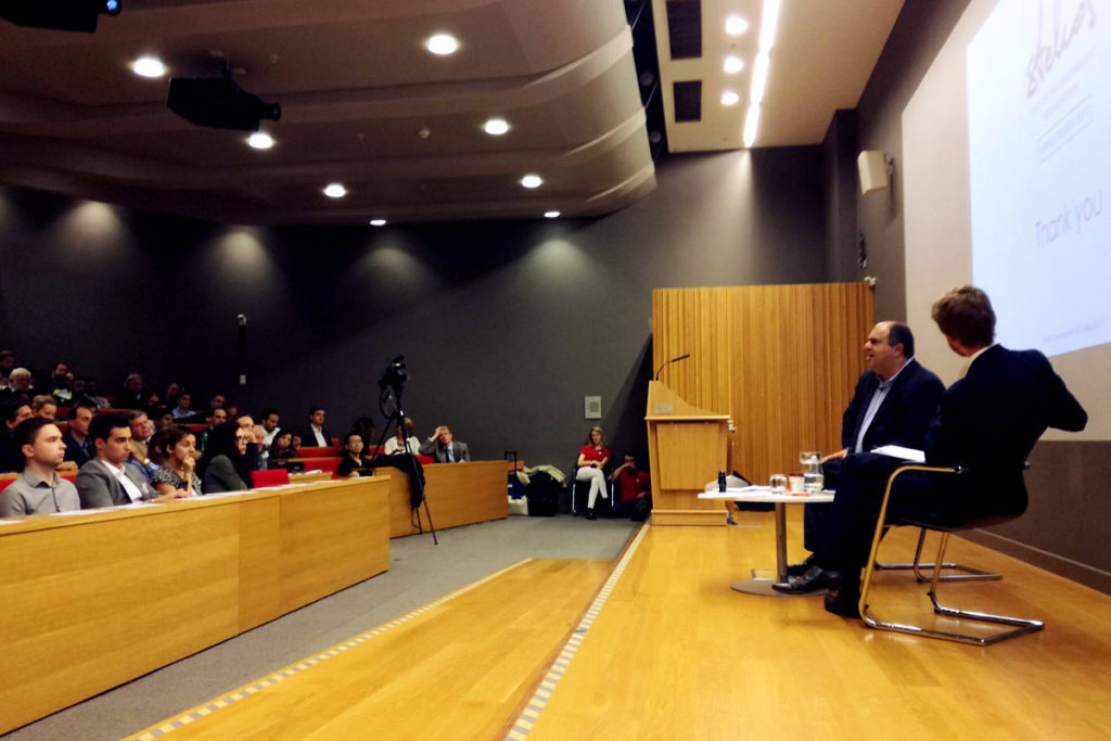 Sir Stelios visits alma mater – London School of Economics
